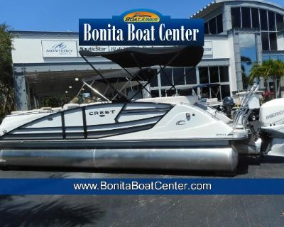 2022 Crest Savannah 250 NX-L Pontoon Boat