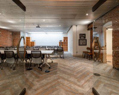 Downtown Training Room in Historic Baur's Building, Denver, CO
