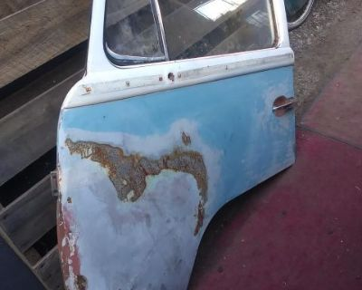 Driver door for repairs or parts