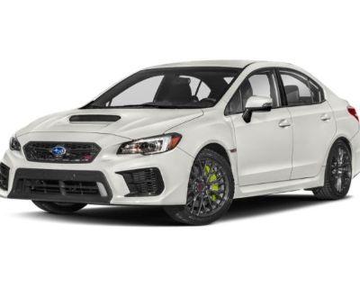 New 2021 Subaru WRX STI Limited AWD 4dr Car