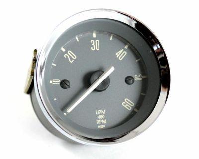 Karmann Ghia 6,000 RPM 52mm Tachometer 67-71