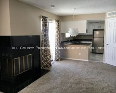 6118 Habitat Dr #1, Boulder, CO 80301 2 Bedroom Condo