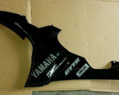 Yamaha R6 Black Left Side Cowl 2008