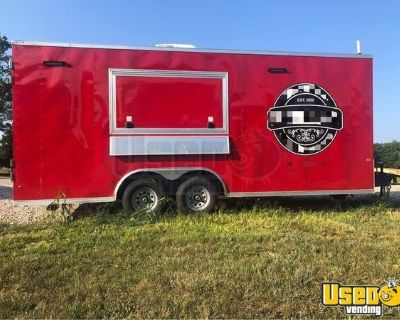 Up to Code Brand New Mobile Kitchen / Never Used Food Concession Trailer