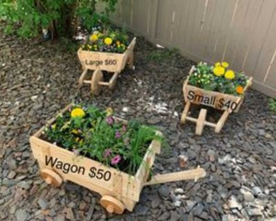 Planters for Flowers Garden or Patio Wood New