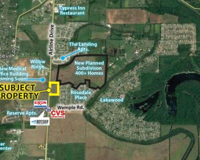 Airline Drive and Wemple Rd 13.58 Acres