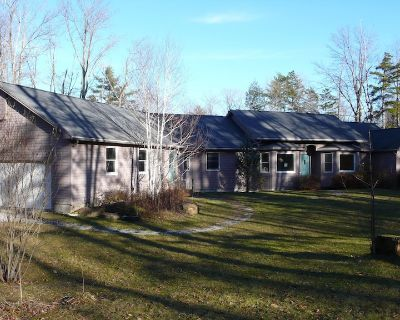 Sprawling Berkshires Ranch Nestled In A Private Wooded Lot With Expansive Yards! - Becket