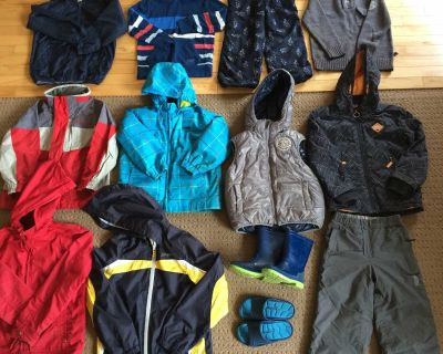 Lot of boys clothing and outerwear - great deal!