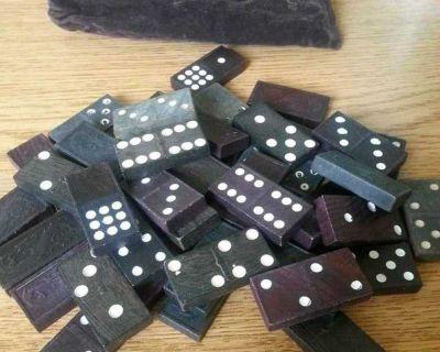 Vintage(?) Wood dominoes