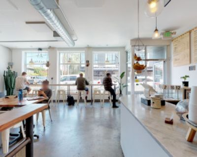 Large Open Cafe Space with Beautiful Outdoor Patio, Portland, OR
