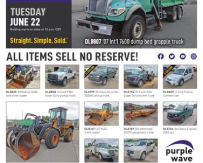 June 22 City of Kansas City MO auction