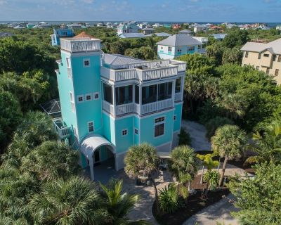 Happy Hours Beach House - Your Happiness Begins Here - Luxury, Pool, 2 Golf Cart - North Captiva