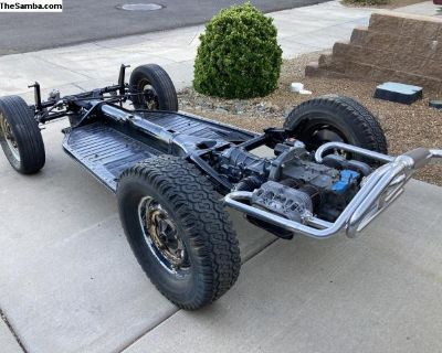 Dune Buggy 1960 rolling pan with engine