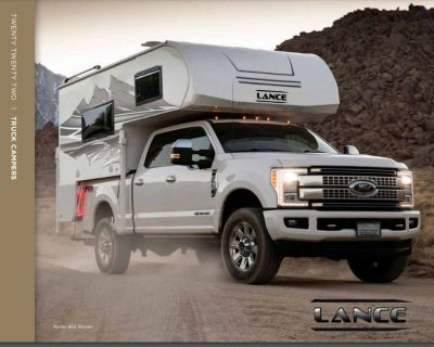 2021 Lance Truck Campers 8' Long Bed 975