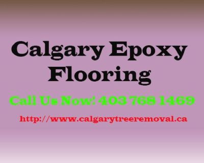Calgary Epoxy Flooring