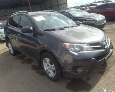 Salvage Gray 2015 Toyota Rav4