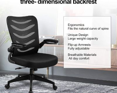 ComHoma Ergonomic Office Desk Chair - New - Minor Damage - No Assembly