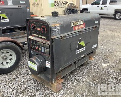 2014 (unverified) Lincoln Classic 300 HE Stick Engine Driven Welder