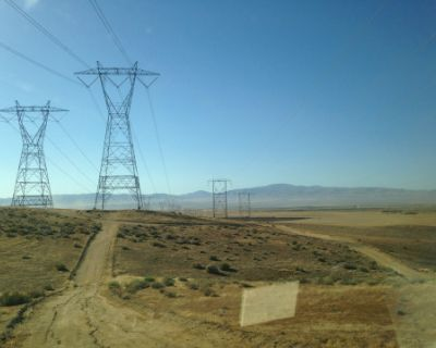 """Towers from """"Seven"""", Lancaster, CA"""