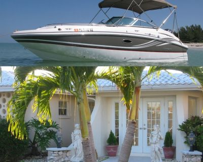Hurricane Deck Boat included with Beautiful Yacht Club Pool Home - Yacht Club