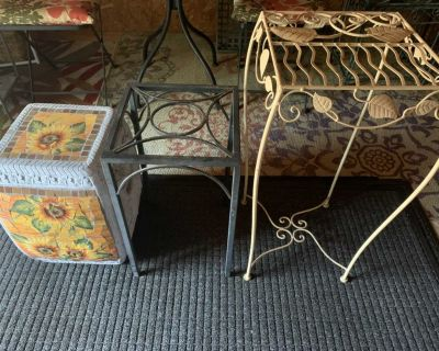 3 tables/plant stands