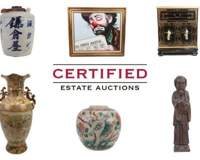 Stunning Collection Featuring Asian Antiques, Artwork, Furniture, and More!
