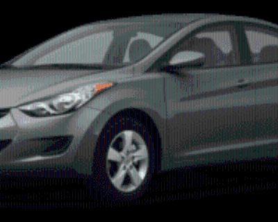 2011 Hyundai Elantra GLS Sedan Automatic (Ulsan Plant) (PZEV)
