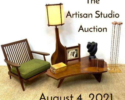 The Artisan studio auction (Day 2)