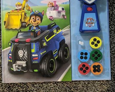 Paw patrol book with projector