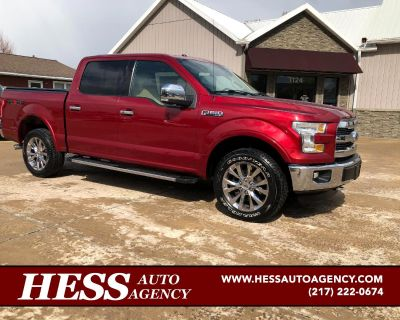 Used 2015 Ford F-150 Lariat SuperCrew 5.5-ft. Bed 4WD