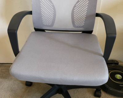 Gray Wayfair office chair