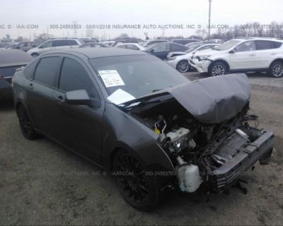 Salvage Gray 2010 Ford Focus