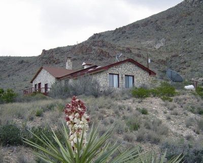 Turtle Mountain Ranch TWO: Ranch with TWO Homes. - Terlingua