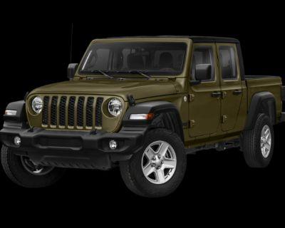 New 2021 Jeep Gladiator Sport 4WD 4D Crew Cab