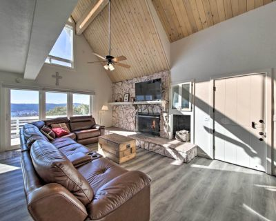 Hilltop Home w/Lake Arrowhead View & Hot Tub! - Lake Arrowhead