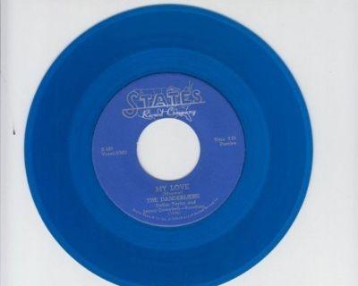 DANDERLIERS ~ My Love*Mint-45 RARE BLUE WAX !