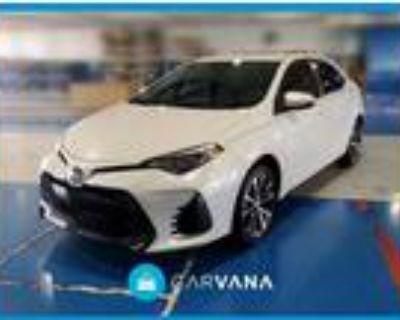 2019 Toyota Corolla White, 11K miles