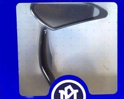Performance Machine Torque Mirror - Black Right 0064-2006-b