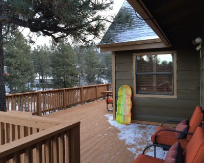 Privacy & Location! One acre & 2min from town. Central AC. Covered patio. - Ruidoso