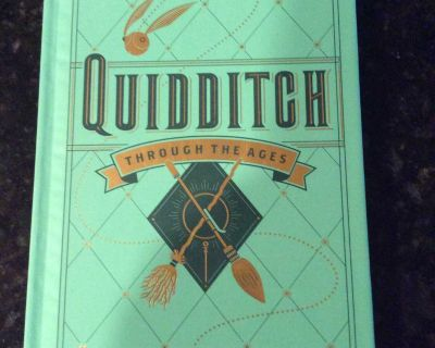 NEW Quidditch Through the Ages