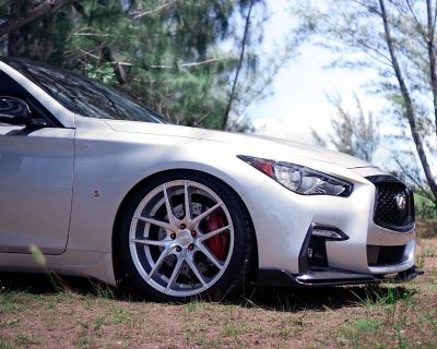 For Sale: 2018 Q50 3.0t Red Sport 400 RWD 23,049 miles