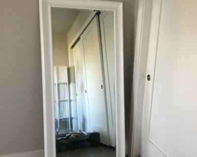 Large White Full Length Mirror