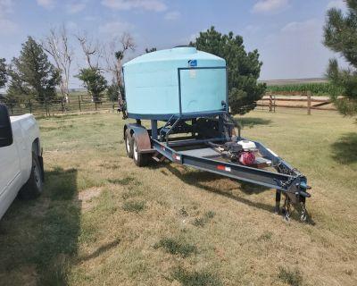 Skiles Tender sprayer water trailer