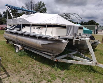 1999 Lowe Suncruiser 18' Pontoon Boats Saint Helen, MI