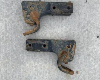 Vanagon Rear Bumper Brackets Tow Hooks