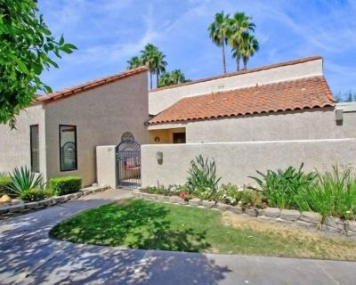 A Greenday Property: CASA DEL SOL: 1 bed/1.5 bath poolside retreat w/ expanded outdoor living spaces - Rancho Mirage