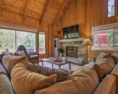 Gorgeous Lake Arrowhead Retreat w/Game Room & Deck - Lake Arrowhead