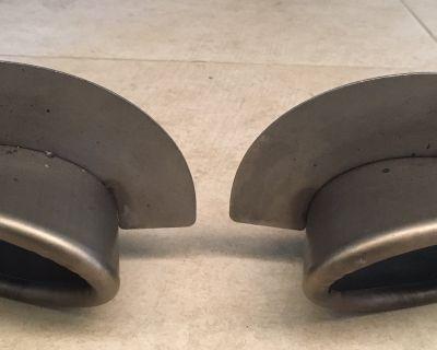 Porsche 993 Exhaust Tips (Narrow Body) Bischoff 99311125202 & 99311125102