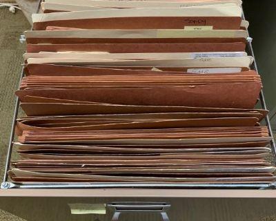 Accordion file folders 11x17
