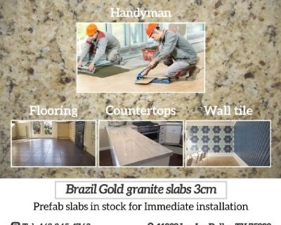 Construction services home repairs handyman